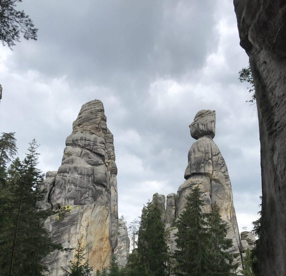 Starosta i Starościna, Adrspach, Skalne Miasto