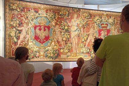 Wawel jest dla dzieci - Wszystkie arrasy króla